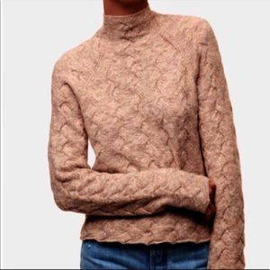 WILFRED FREE Mical Mock Neck Sweater Size XXS